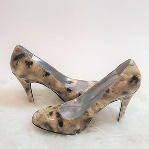 Jessica Simpson Cute Leopard Pump Heels 7.5 B